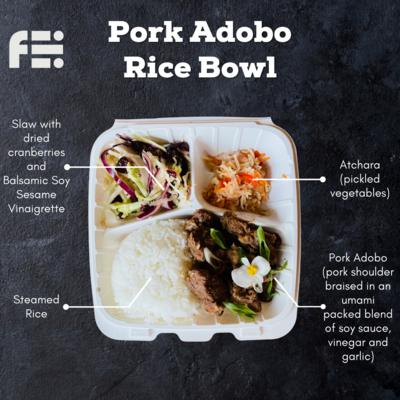 Pork Adobo Bowl