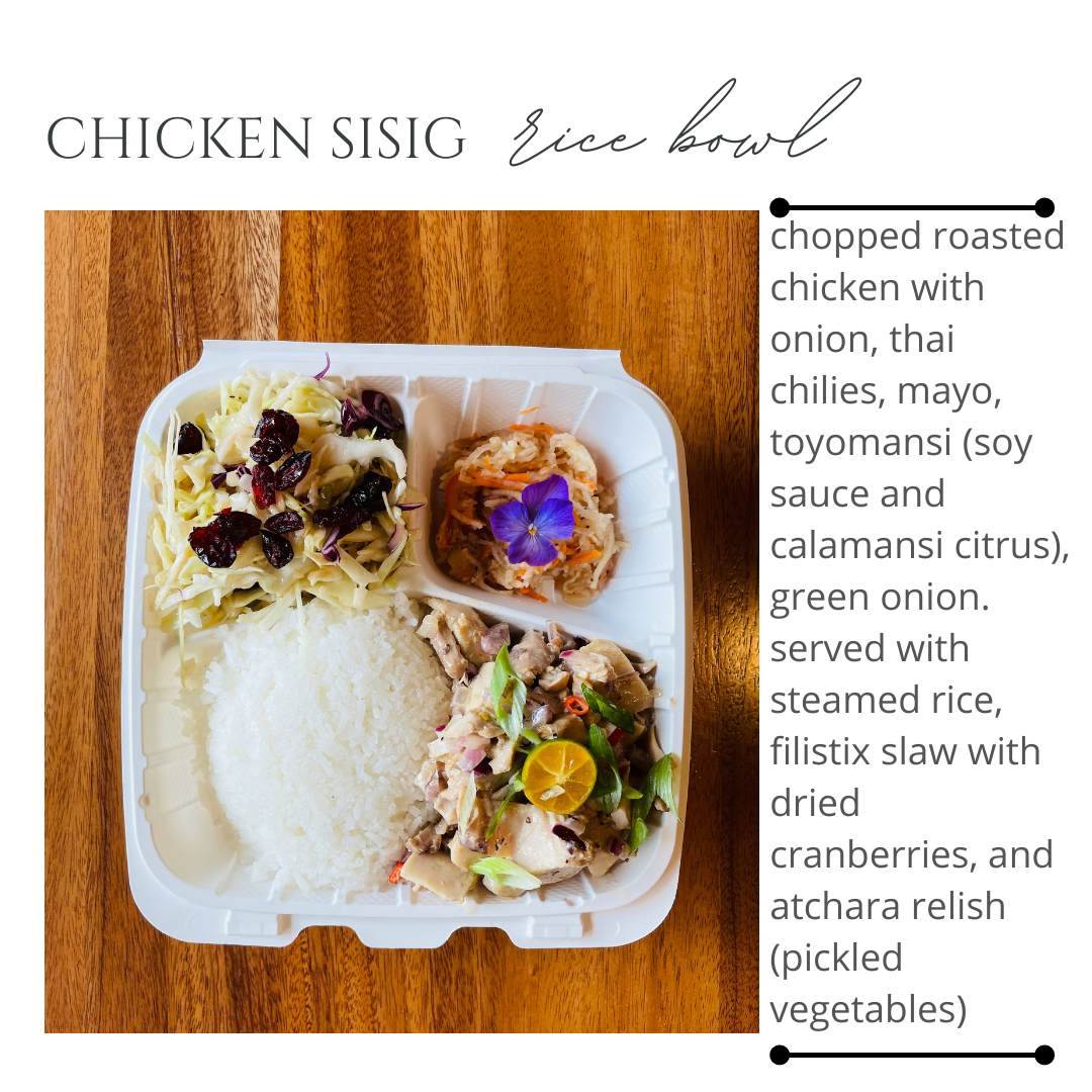 Feature Bowl: Chicken Sisig