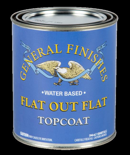Flat Out Flat Topcoat Sealer