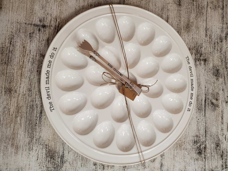 Devil Egg Platter