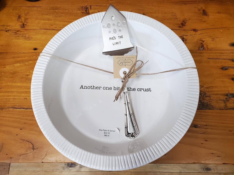 Pie Plate Server Set