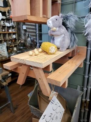 Squirrel Bench
