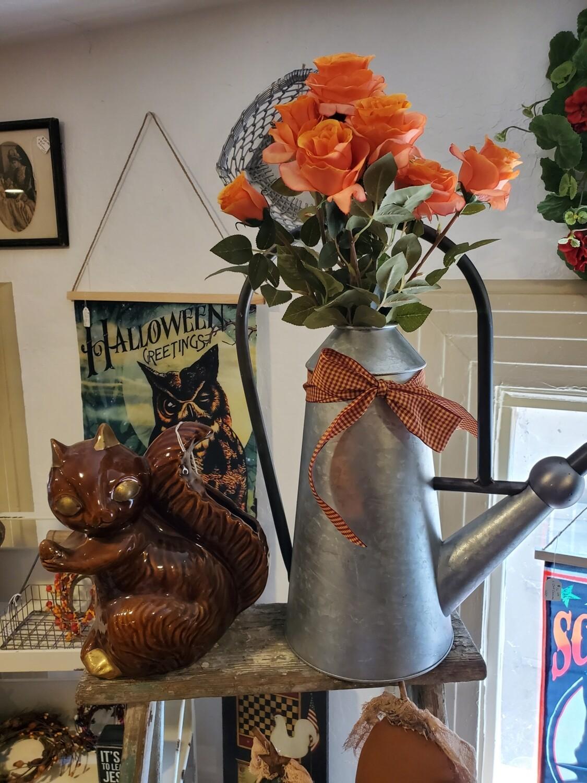 Ceramic Squirrel Vase