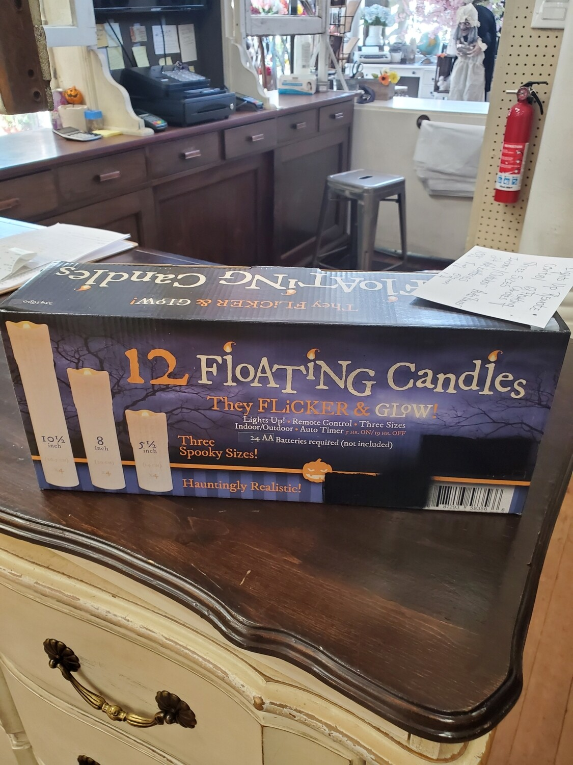 Set of 12 Floating Candles