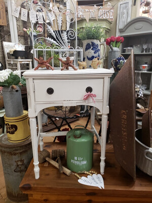 Vintage Sewing Cabinet End table