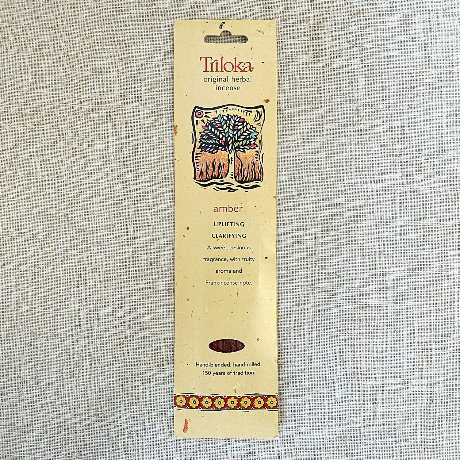 Amber Triloka® Herbal Incense