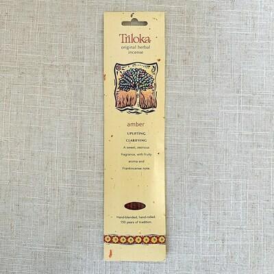 Amber Triloka® Herbal Incense