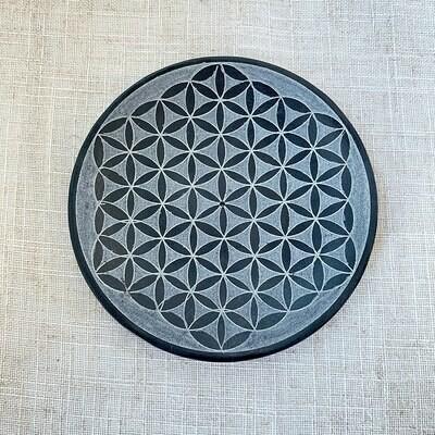 Soapstone Incense Holder Dish