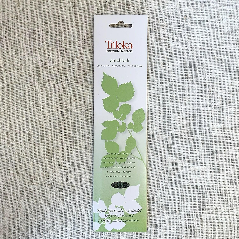 Patchouli ~ Triloka® Premium Incense