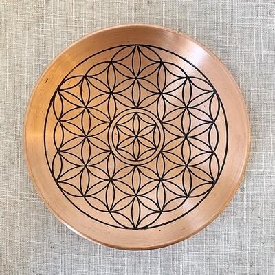 Copper Bowl ~ Flower of Life