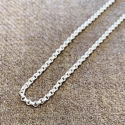 "Silver Chain 24"""