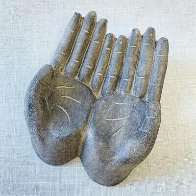 Sacred Hands ~ Volcanic Stone