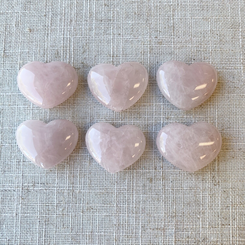 Rose Quartz Pocket Heart