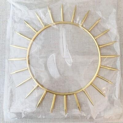 Krystaline Sun Ring 9