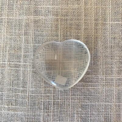 Clear Quartz Pocket Heart