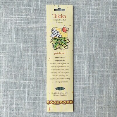 Patchouli ~ Triloka® Herbal Incense