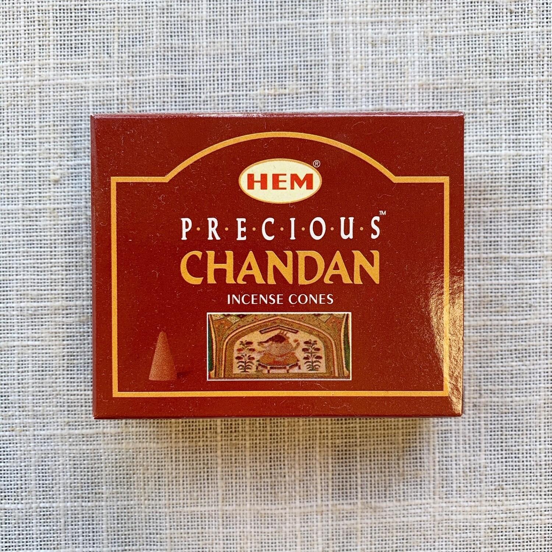 Chandan Incense Cones