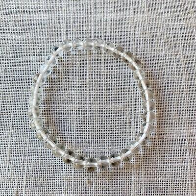 Clear Quartz Bracelet 8MM