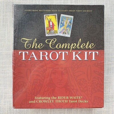 The Complete Tarot Kit Everything a Beginner Needs to Start Their Journey with Tarot