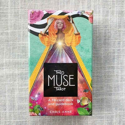 The Muse Tarot: A 78-Card Deck & Guidebook Cards