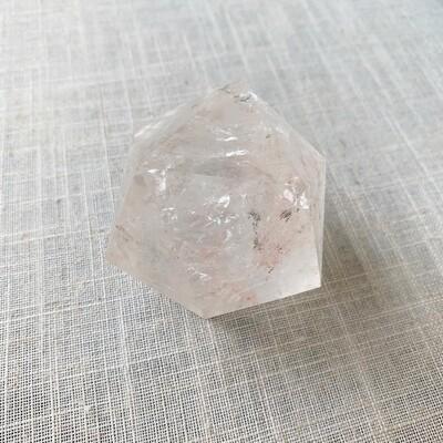 Clear Quartz Icosahedron