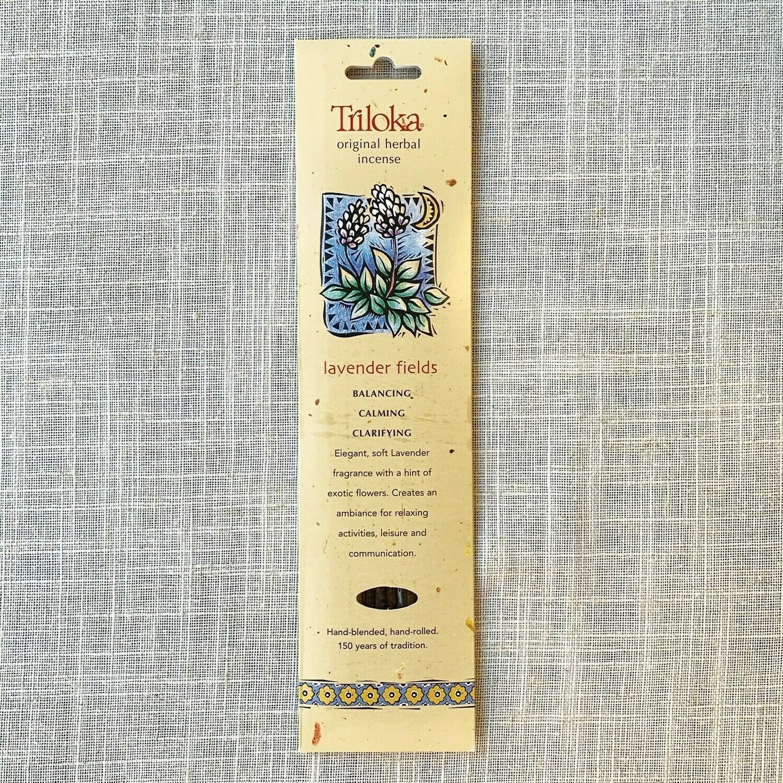 Lavender Fields Triloka® Original Herbal Incense