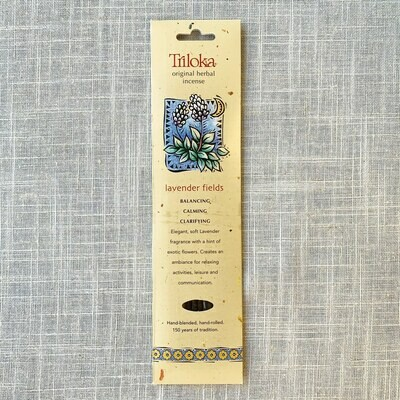 Lavender Fields Triloka® Original Herbal Incense