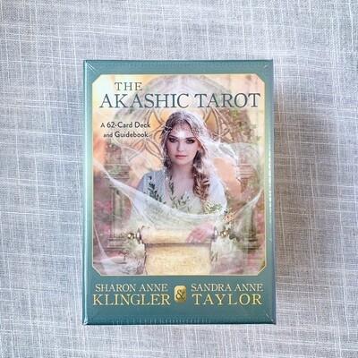 Akashic Tarot: A 62-Card Deck and Guidebook Cards