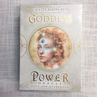 Goddess Power Oracle: Deck and Guidebook Cards
