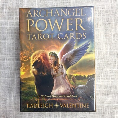 Archangel Power Tarot Cards: A 78-Card Deck and Guidebook Cards
