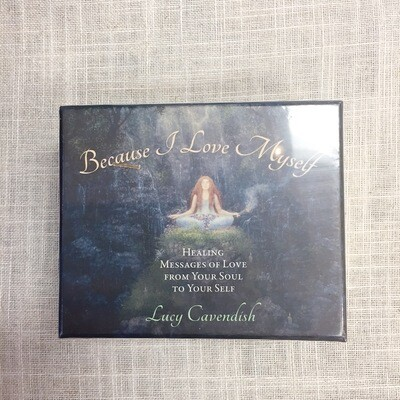 Because I Love Myself Affirmation Deck: Healing Messages of Love from Your Soul to Your Self Cards