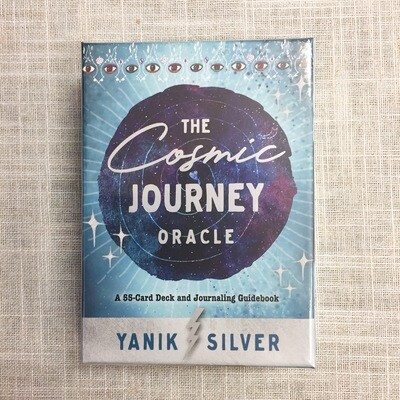 The Cosmic Journey Oracle: A 55-Card Deck and Journaling Guidebook Cards