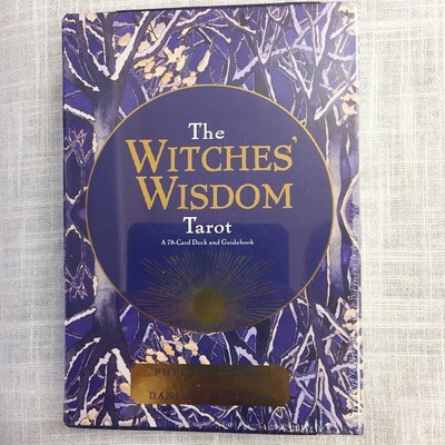 The Witches' Wisdom Tarot: A 78-Card Deck and Guidebook Cards