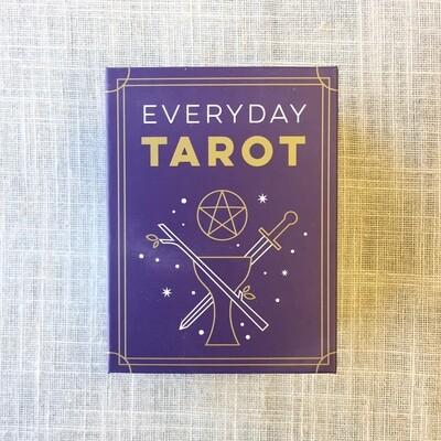 Everyday Tarot Mini Tarot Deck Paperback