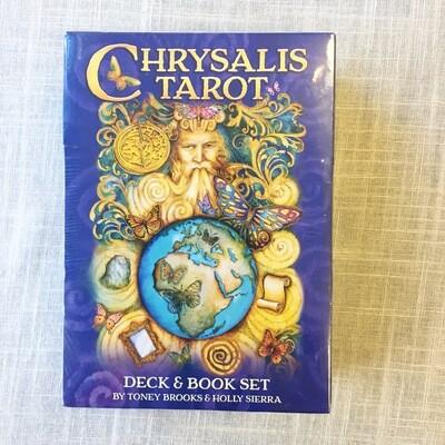 Chrysalis Tarot Deck and Book Set Paperback