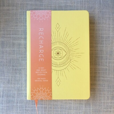 Recharge: A Day and Night Reflection Journal (90 Days) Paperback
