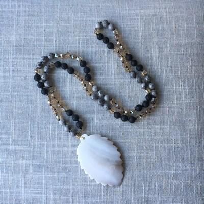 Boho Style Gemstone Mala
