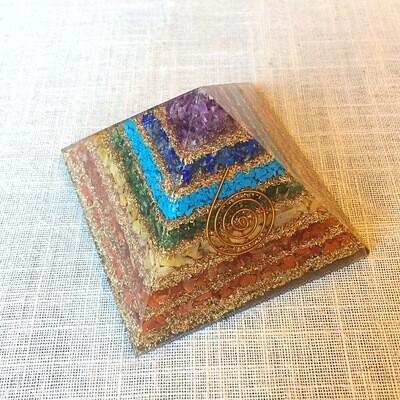 Orgonite Chakra Stones