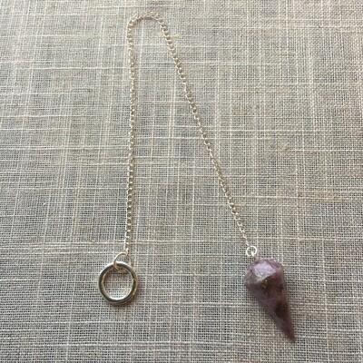 Pendulum Lepidolite