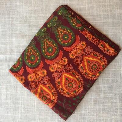 Cotton Tapestry Orange