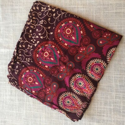 Cotton Tapestry Purple Pink