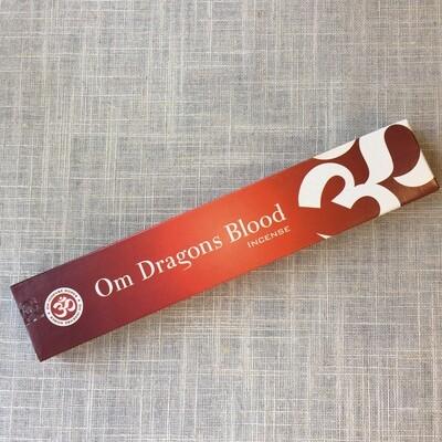 OM Dragon Blood Incense