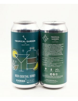 CIERZO TROPICAL GARDEN: BEER COCKTAIL SERIES