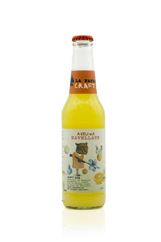LA FANTASTICA SODA AVELINA NAVELLATE - Naranja