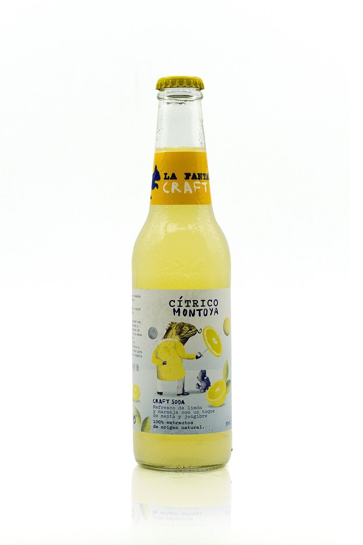 LA FANTASTICA SODA CITRICO MONTOYA - Limón