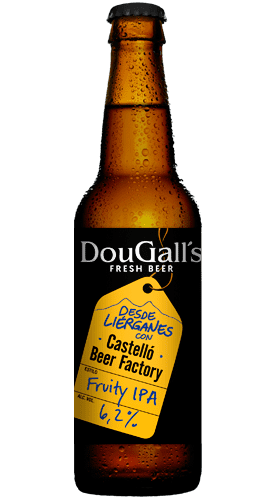 DOUGALL'S colab. CASTELLO BEER FACTORY