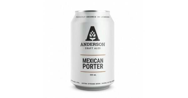 ANDERSON CRAFT ALES MEXICAN PORTER