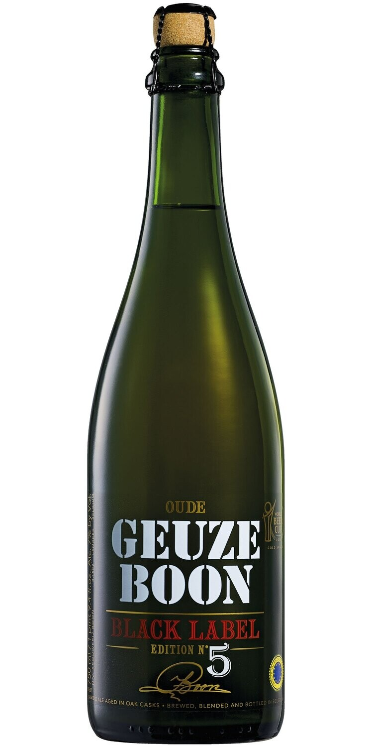 BOON OUDE GEUZE BLACK LABEL N. 5