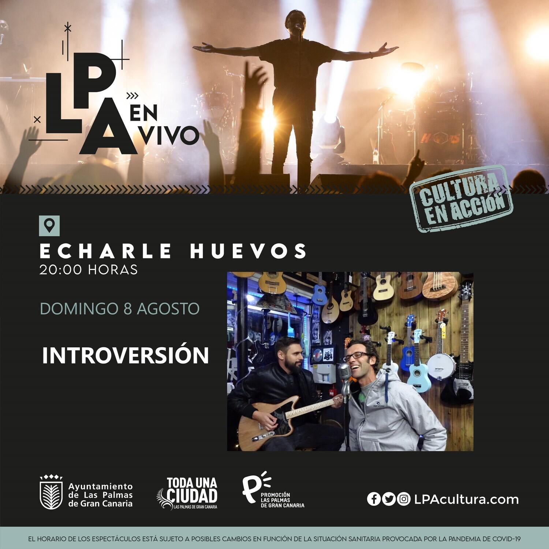 INTROVERSIÓN en CONCIERTO - D 8 AGOSTO 20.00H