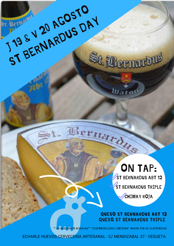 Celebramos el ST BERNARDUS DAY - J19 & V20 AGOSTO